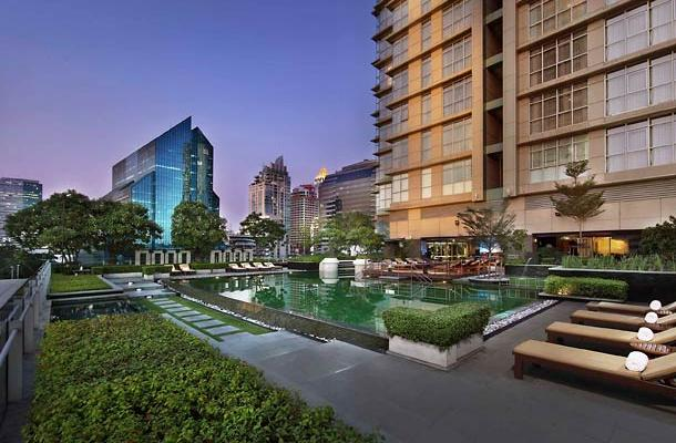фотографии отеля Marriott Executive Apartments Sathorn Vista изображение №3