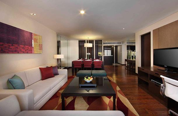 фотографии отеля Marriott Executive Apartments Sathorn Vista изображение №19