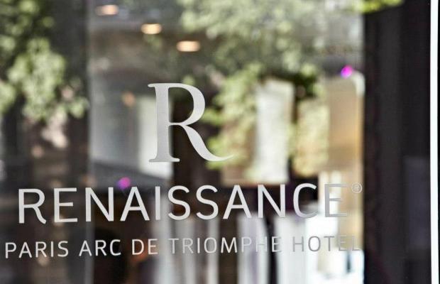 фотографии отеля Renaissance Paris Arc De Triomphe изображение №3